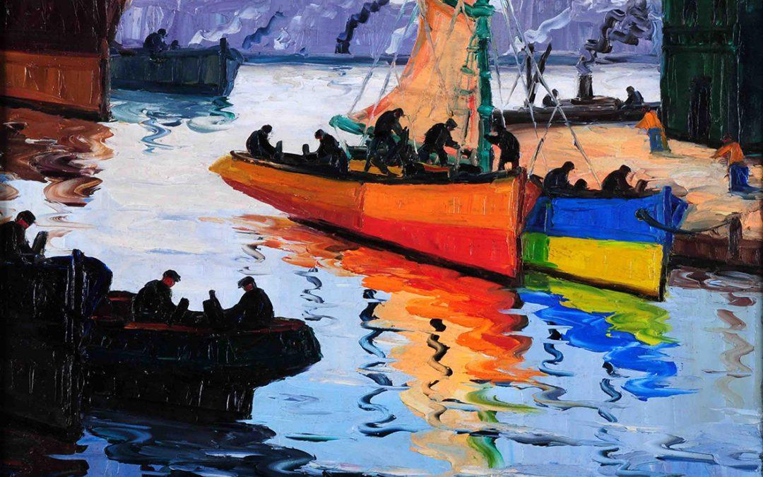 Quinquela mart n y el color de la diferencia - Nombres de colores de pinturas ...