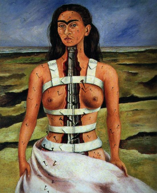 Frida Kahlo y la experiencia de dolor en Freud